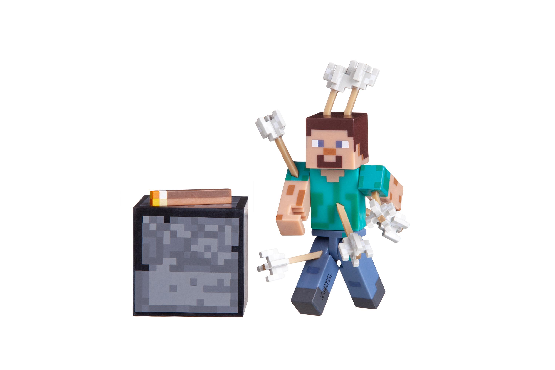 Minecraft Игровая фигурка Steve with Arrow серия 4