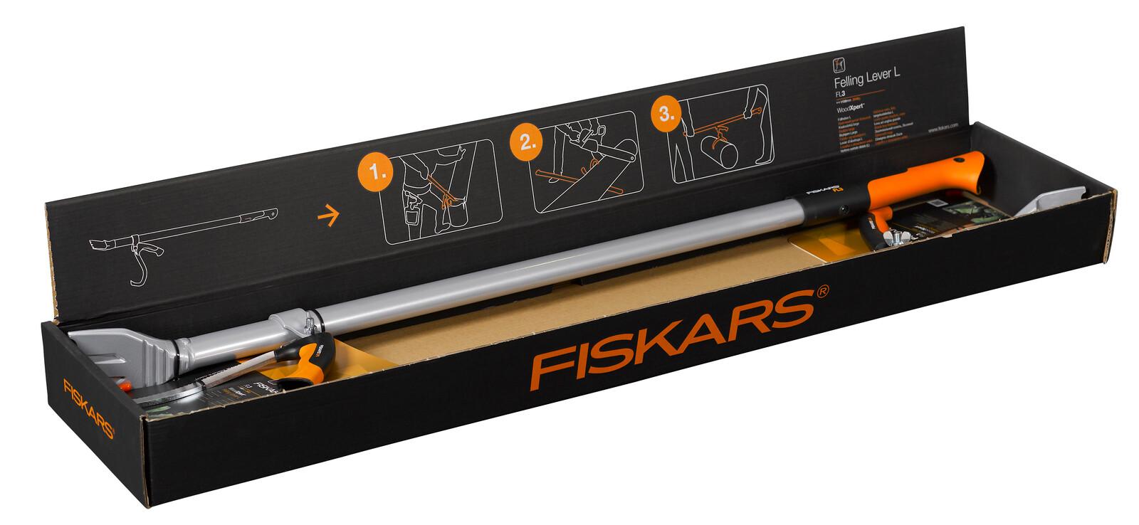 Fiskars Рычаг для рубки деревьев большой WoodXpert Felling Lever L, 115 см