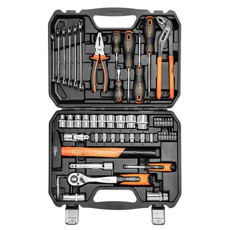 Neo Tools Набір інструментів 56 предметів універсальний