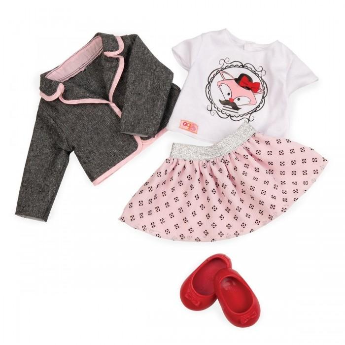 Our Generation Набір одягу для ляльок - Куртка з спідницею