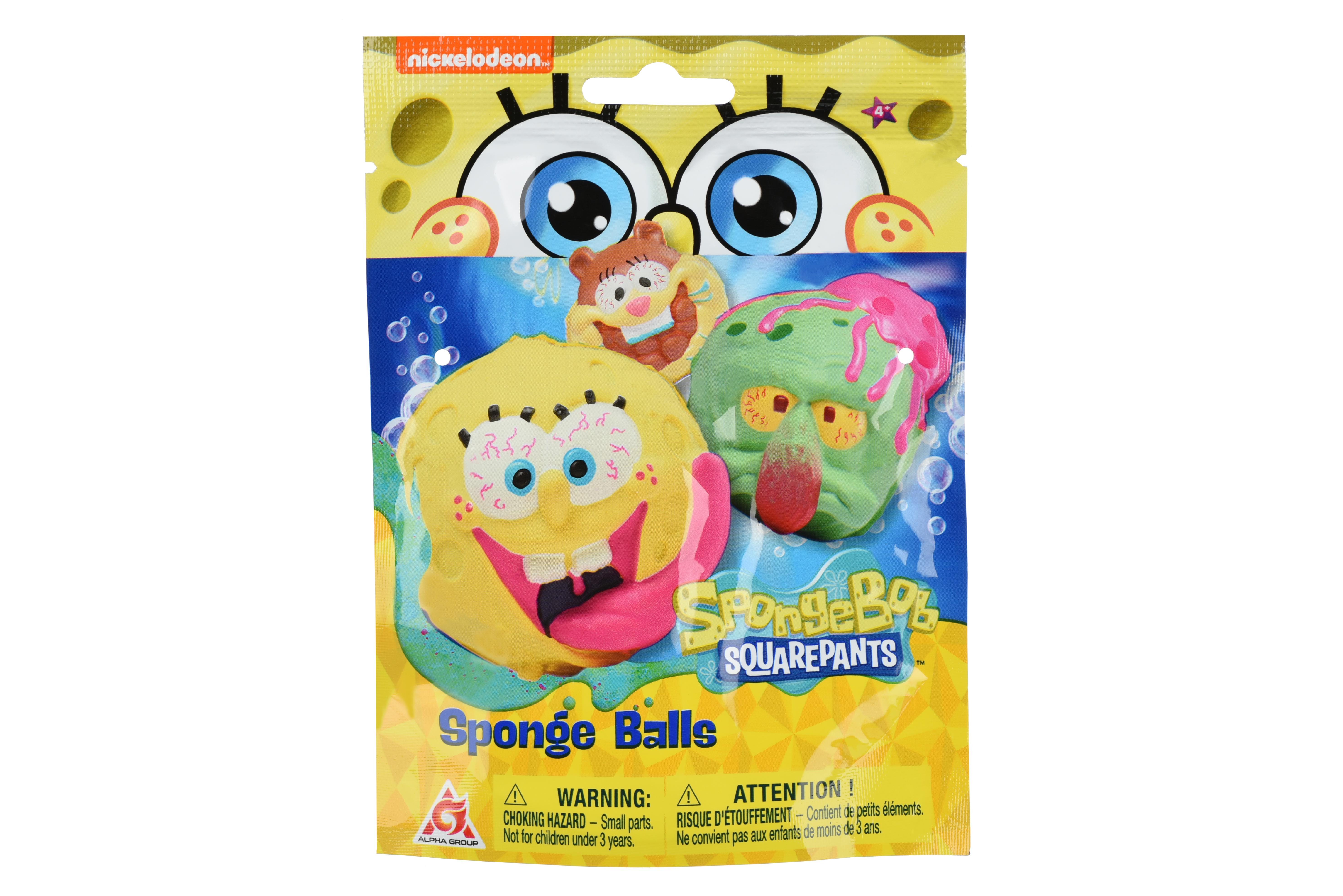 Sponge Bob Игровая фигурка-сквиш Balls закрытая упаковка в ассорт.