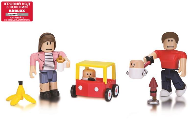 Roblox Ігрова колекційна фігурка Game Packs Where's the Baby, набір 2 шт.