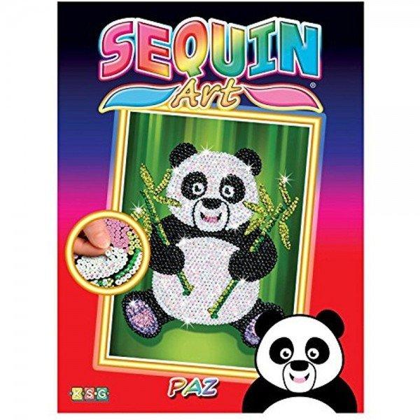 Sequin Art Набір для творчості RED Paz Panda