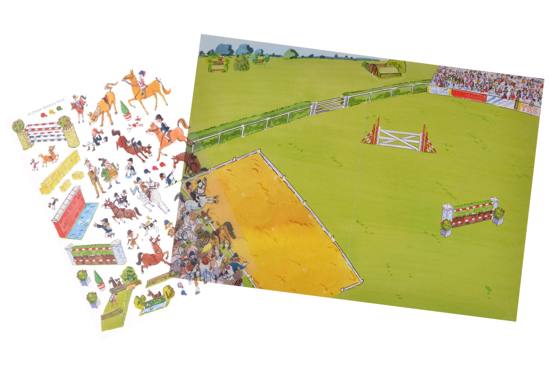 Scribble Down Перевідні наклейки - Змагання Поні