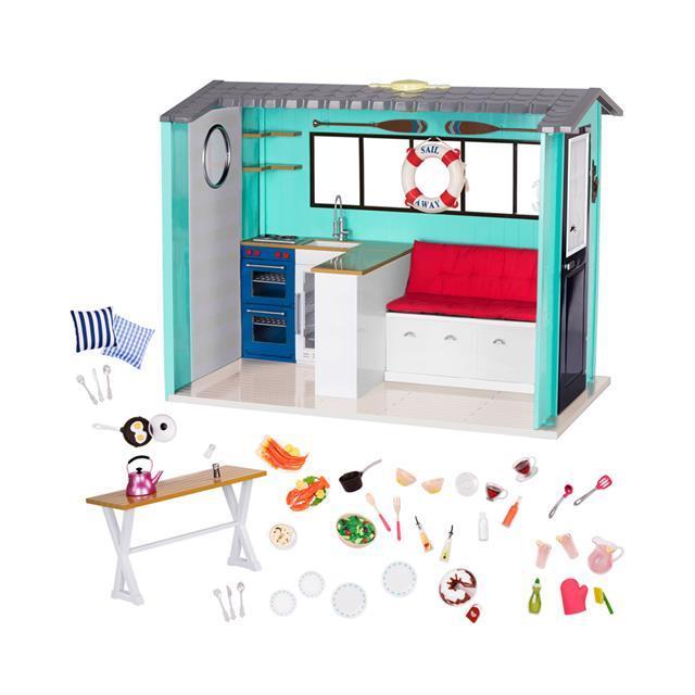 Our Generation Ігровий набір - Пляжний будинок з аксесуарами