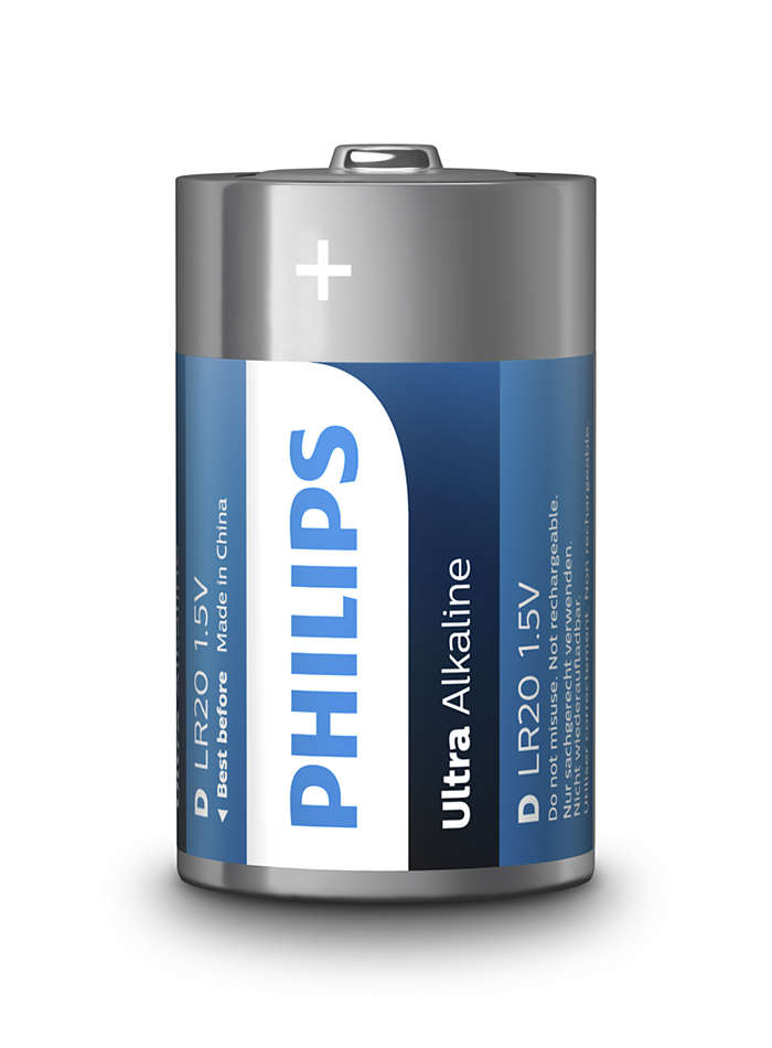 Philips Ultra Alkaline[LR20E2B/10]