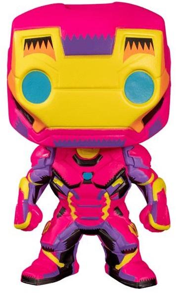 Funko Колекційна фігурка Funko POP! Marvel: Black Light: Iron Man