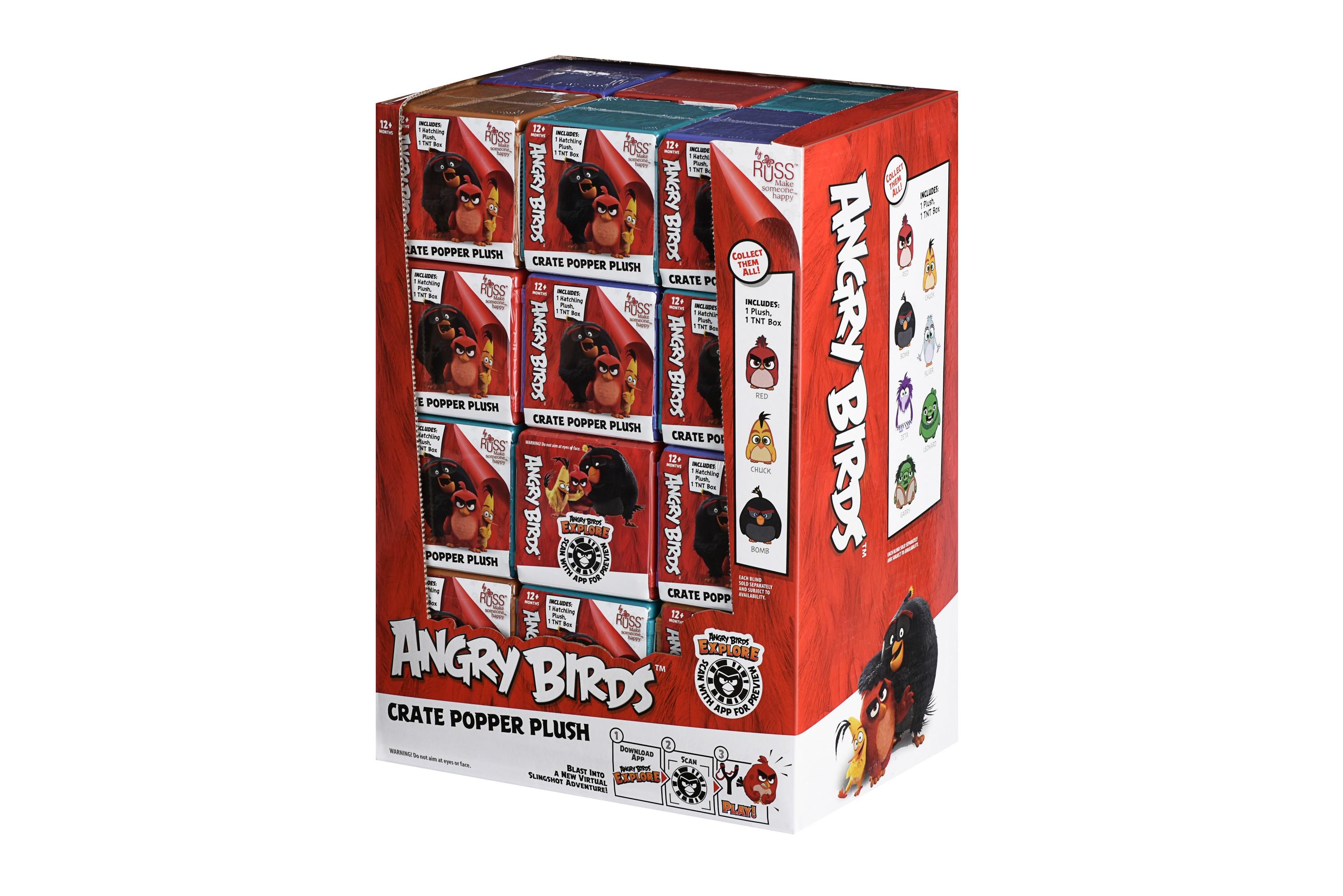 Angry Birds Мягкая игрушка-сюрприз ANB Blind Micro Plush