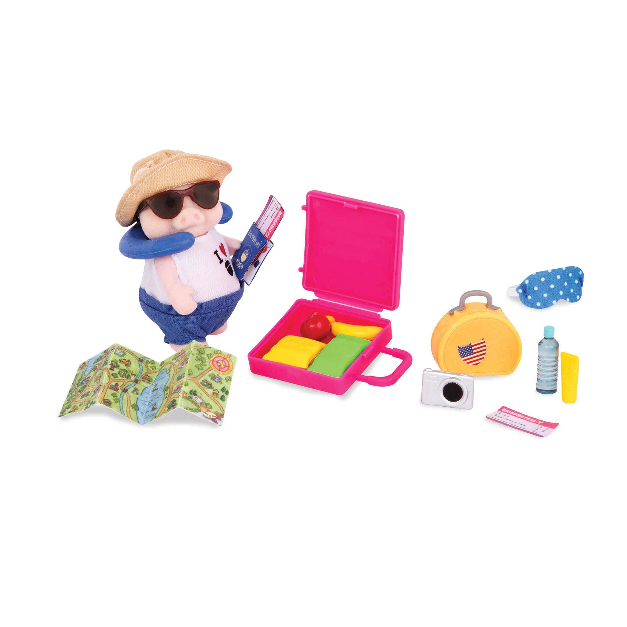 Li`l Woodzeez Игровой набор  - Набор для путешествий