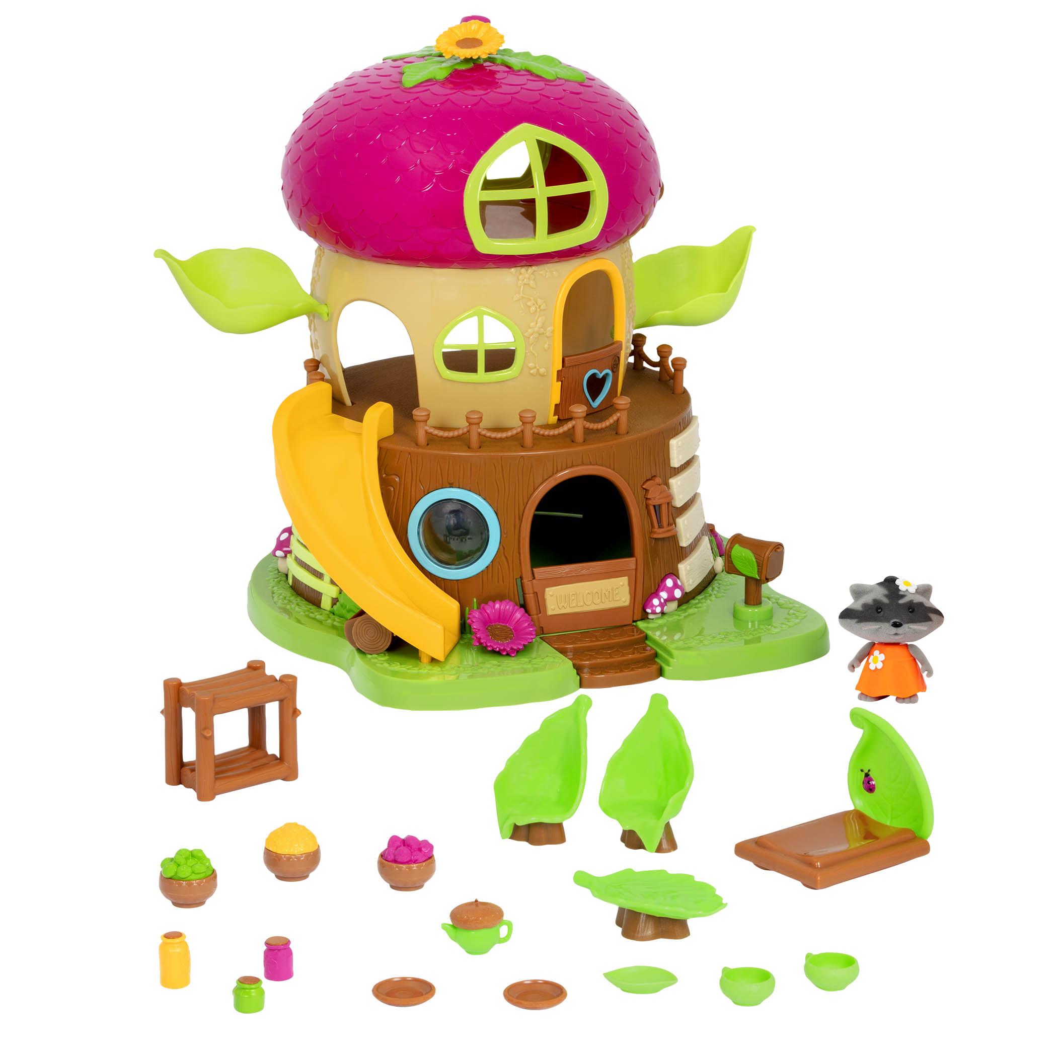 Li`l Woodzeez Ігровий набір - Будинок Bobblehead