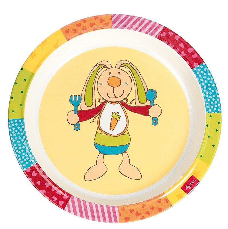 sigikid Тарелка Rainbow Rabbit