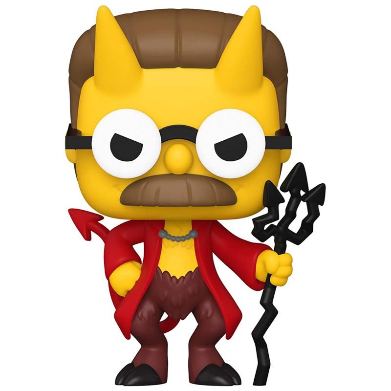 Funko Коллекционная фигурка Funko POP! Vinyl: Simpsons: Devil Flanders (GW) (Exc) 51399