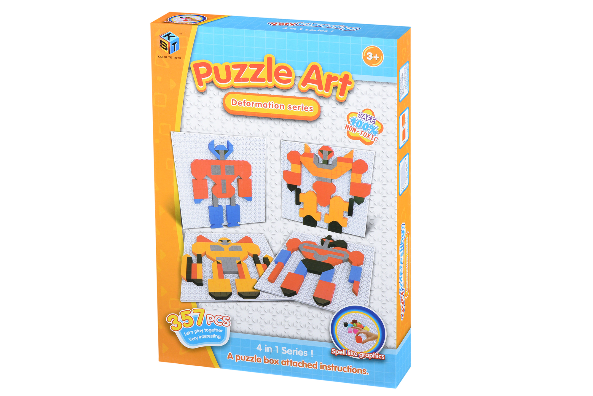 Same Toy Пазл Deformation series (357 эл.)