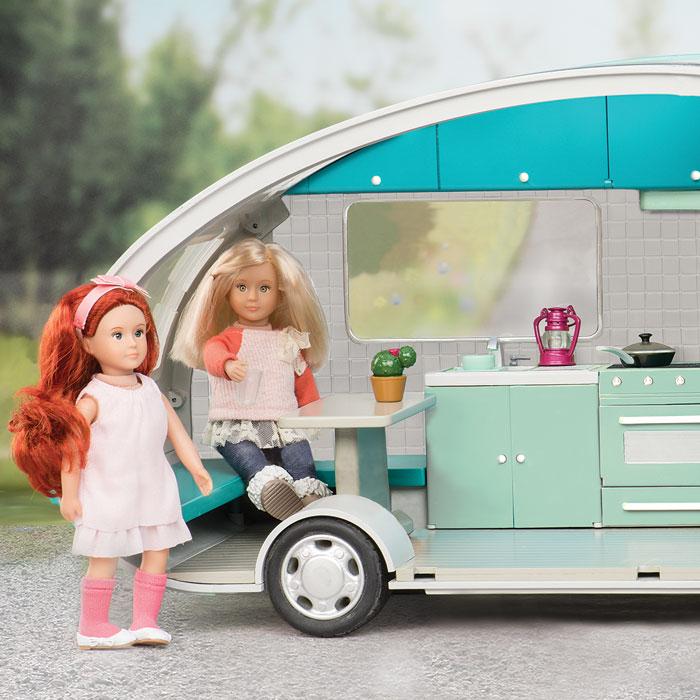 LORI Транспорт для ляльок  - Кемпер бірюзовий