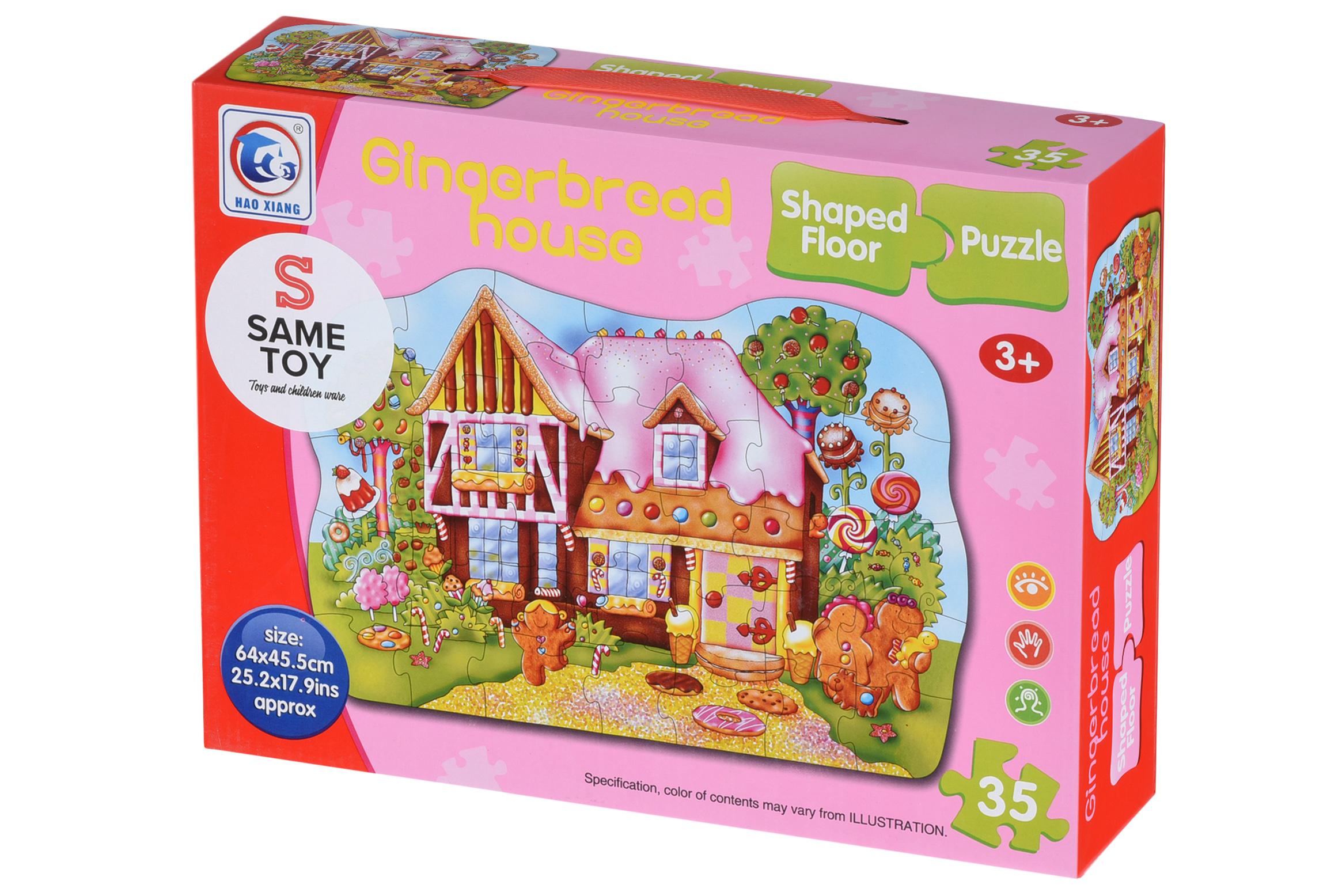 Same Toy Пазл Пряничный домик