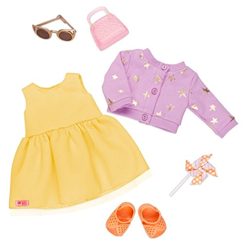 Our Generation Набор одежды для кукол Deluxe - Летнее платье