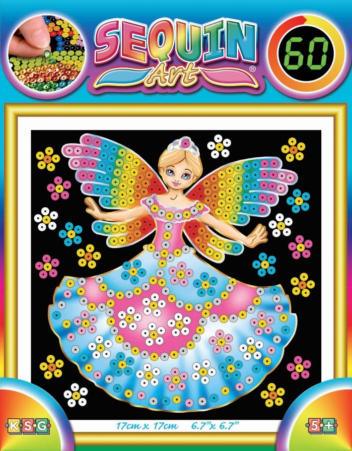 Sequin Art Набір для творчості 60 Fairy Princess
