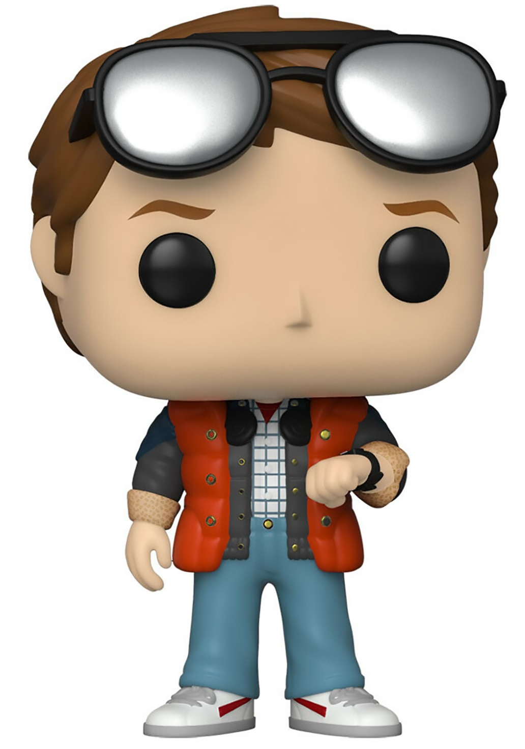Funko Коллекционная фигурка Funko POP! Vinyl: SDCC: BTTF: Marty checking Watch (Exc) 48907