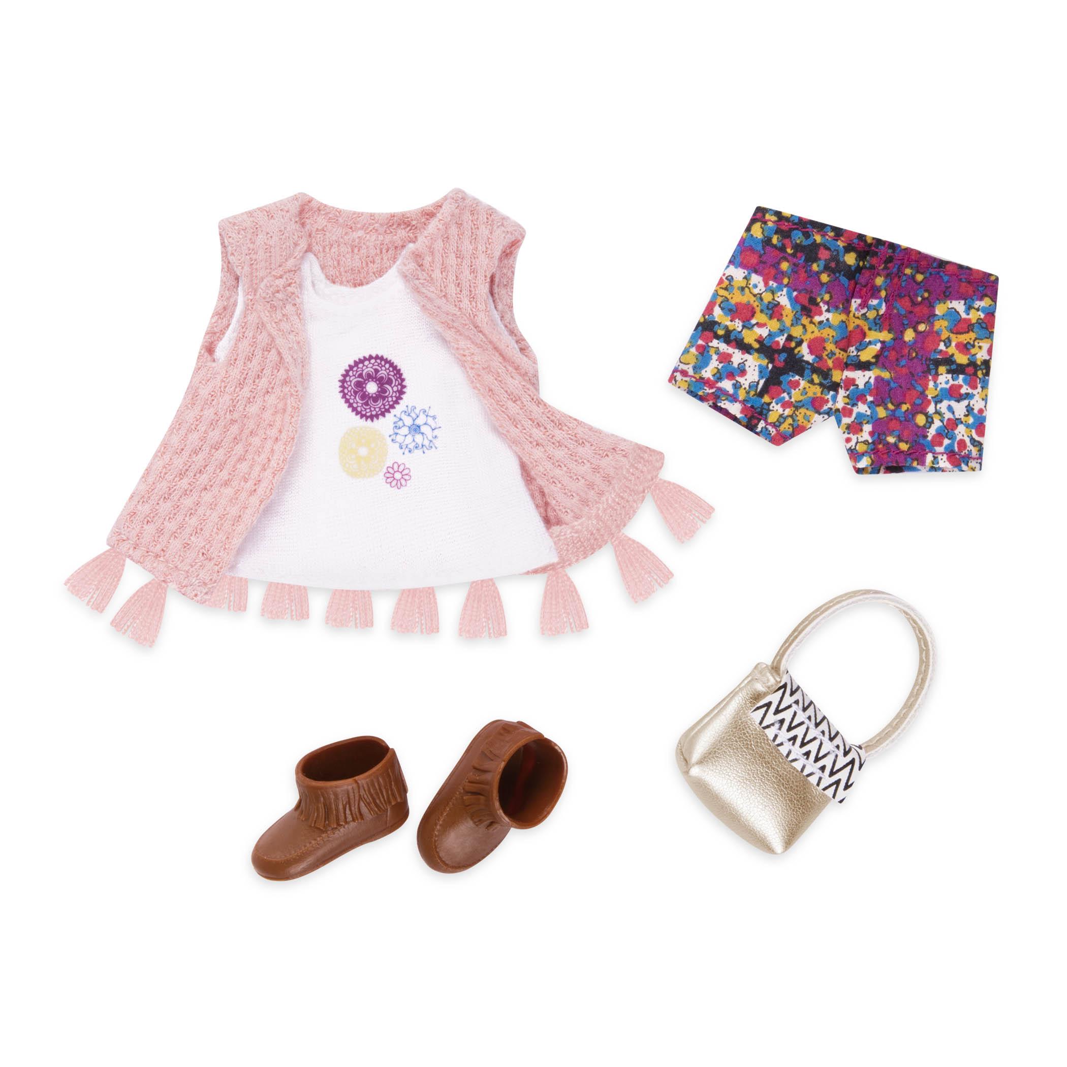 LORI Набор одежды для кукол - Разноцветные шорты