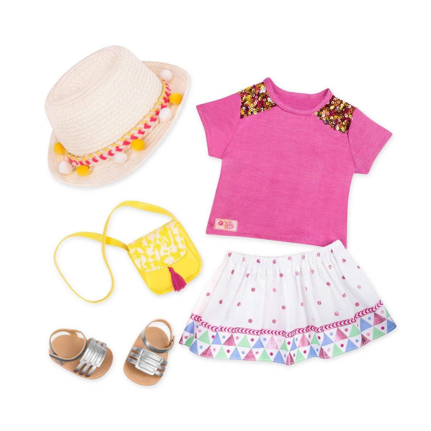 Our Generation Набор одежды для кукол  Deluxe для отпуска