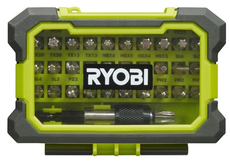 Ryobi Набір біт RAK32MSD, 32ед., швидкознімний тримач 60мм