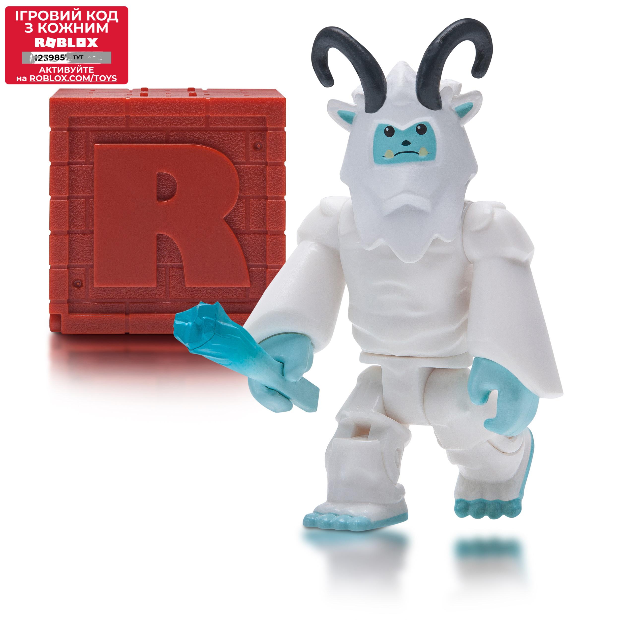 Roblox Игровая коллекционная фигурка Mystery Figures Brick S4