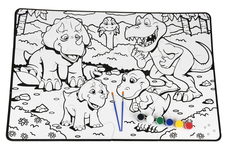 Same Toy Пазл-розмальовка Динозаври