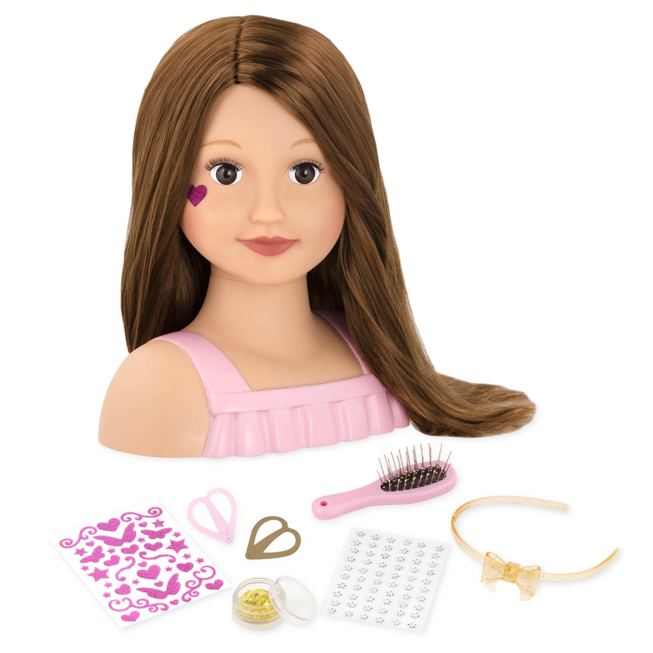 Our Generation Кукла-манекен Модный парикмахер, брюнетка