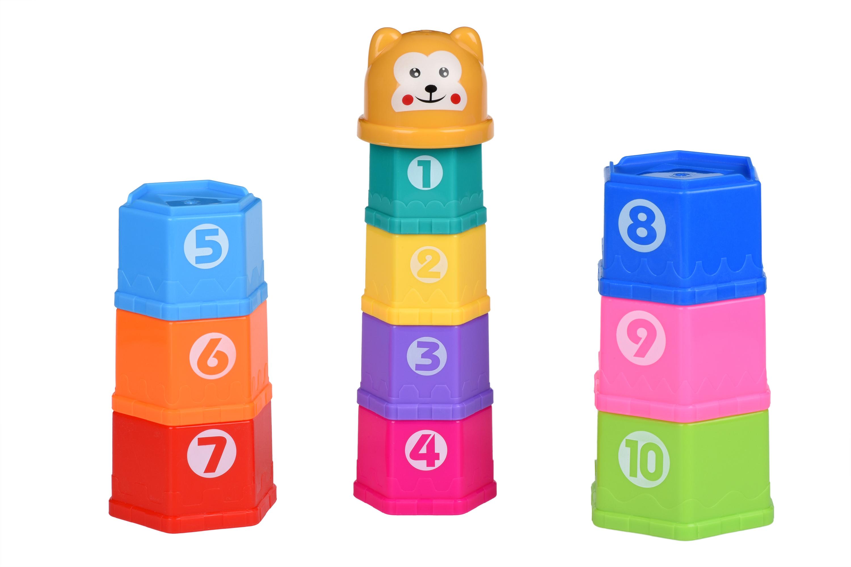 Same Toy Набір для гри з піском - Чашки (10 од.)