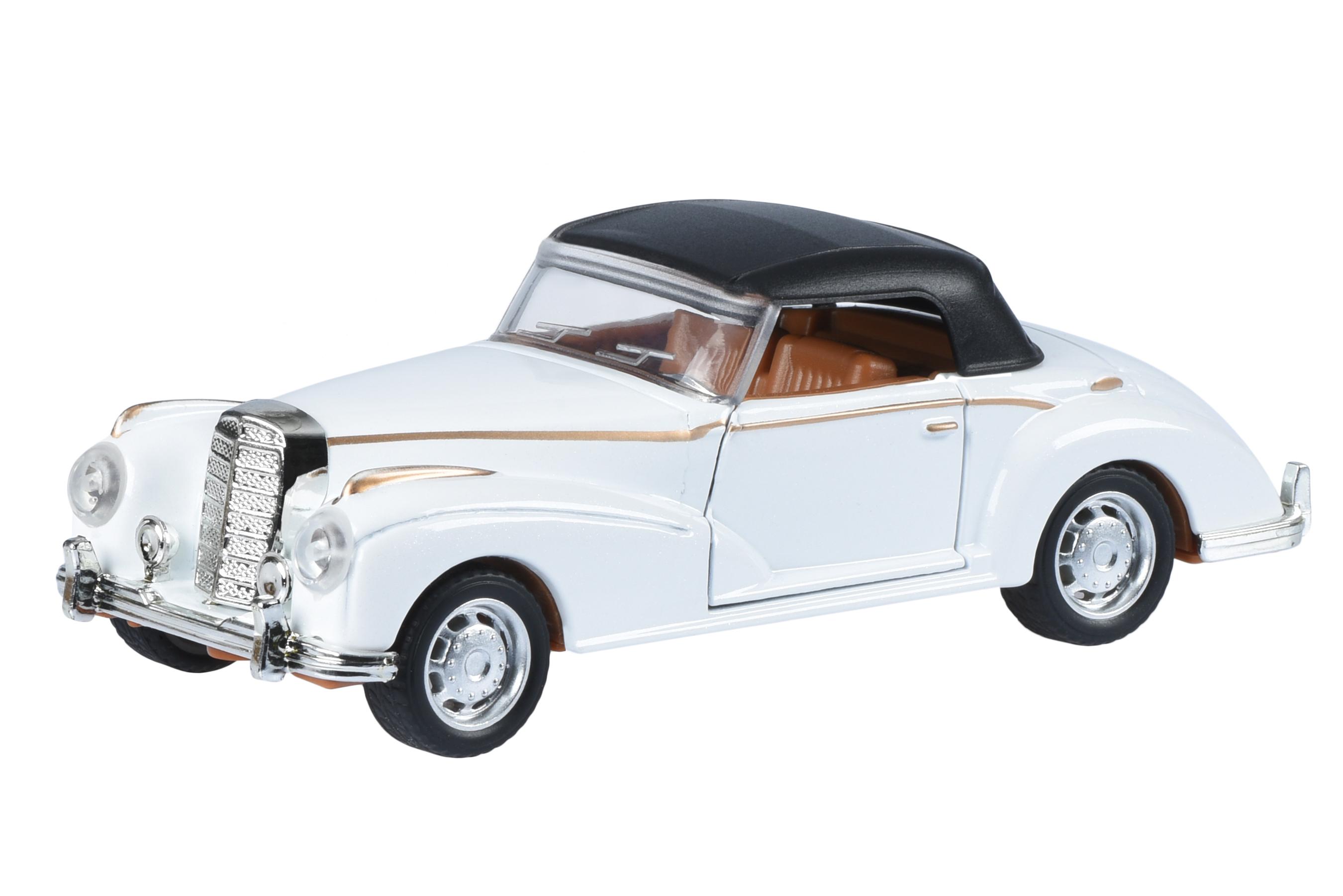 Same Toy Автомобиль Vintage Car (белый закрытый кабриолет)