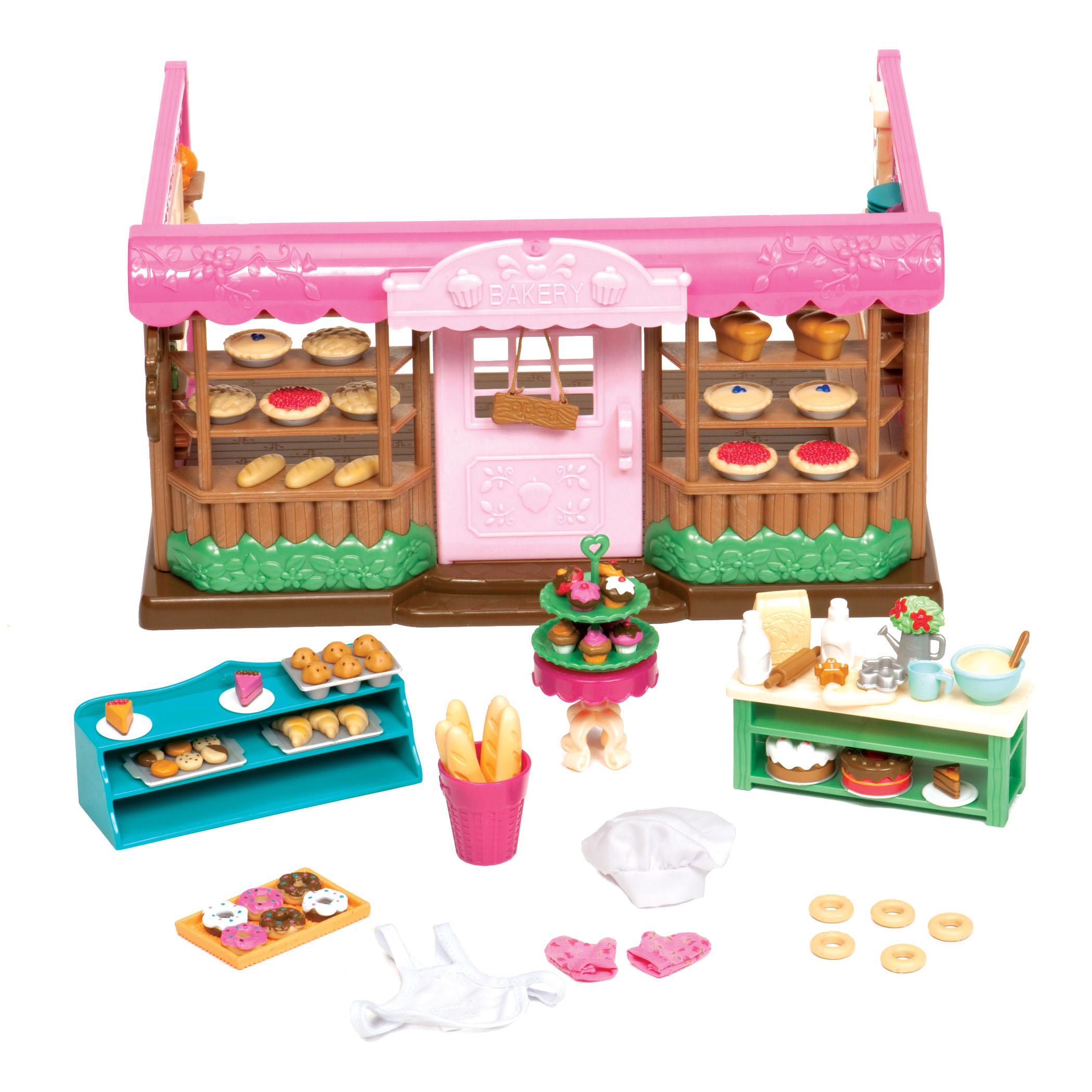Li`l Woodzeez Игровой набор - Пекарня
