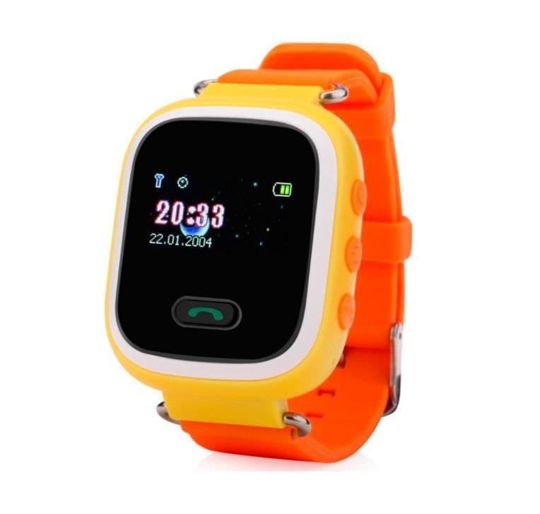 GoGPSme телефон-годинник з GPS трекером K11[K11YL]