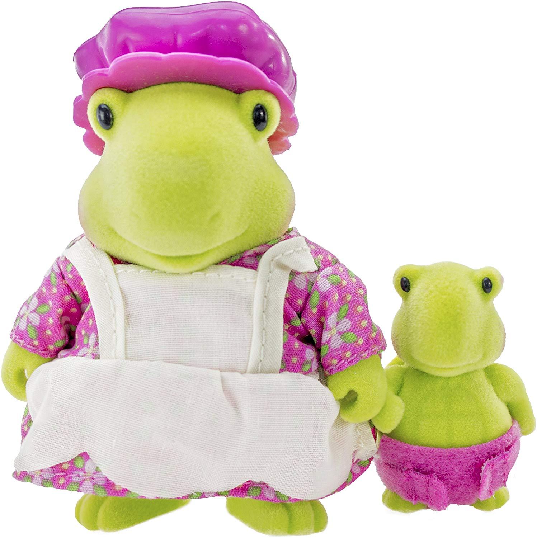 Li`l Woodzeez Набор фигурок - Черепахи: мама и малыш