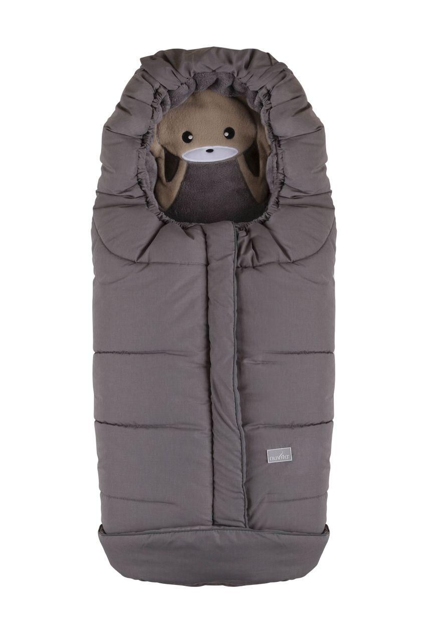 Nuvita 9605 СUCCIOLI JUNIOR[зимний (меланжевый серый/кролик/серый)]