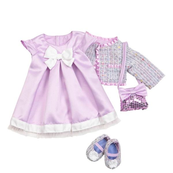 Our Generation Набор одежды для кукол Deluxe - Куртка Твид с платьем