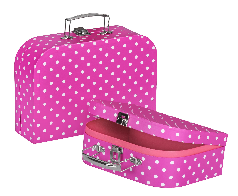 goki Ігрова валіза рожева в горошок