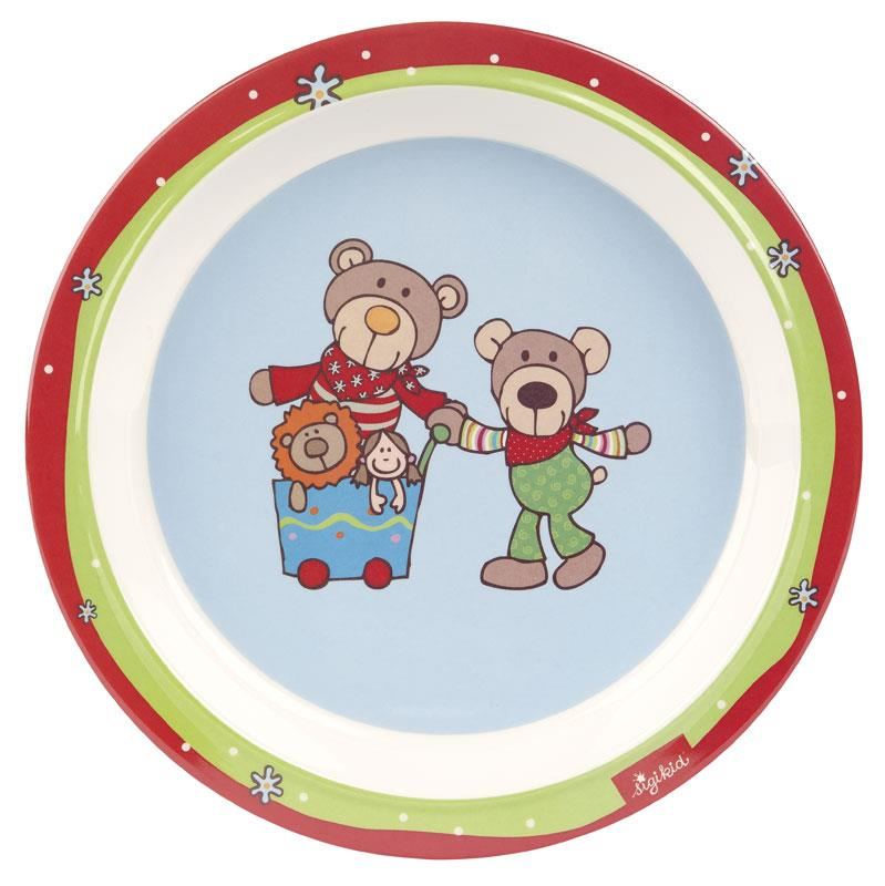 sigikid Тарілка Wild&Berry Bears