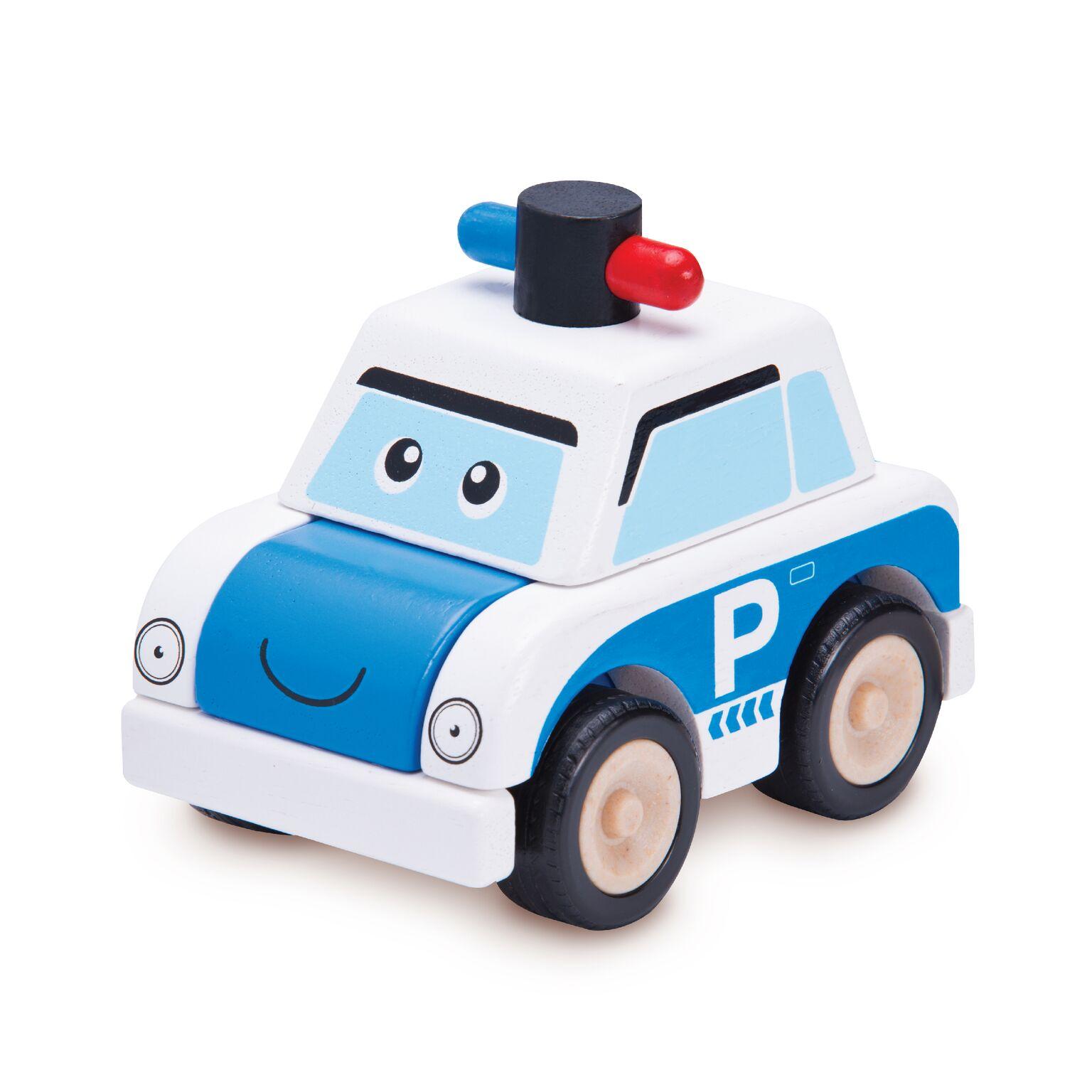 Wonderworld Машинка BUILD Полицейская машина