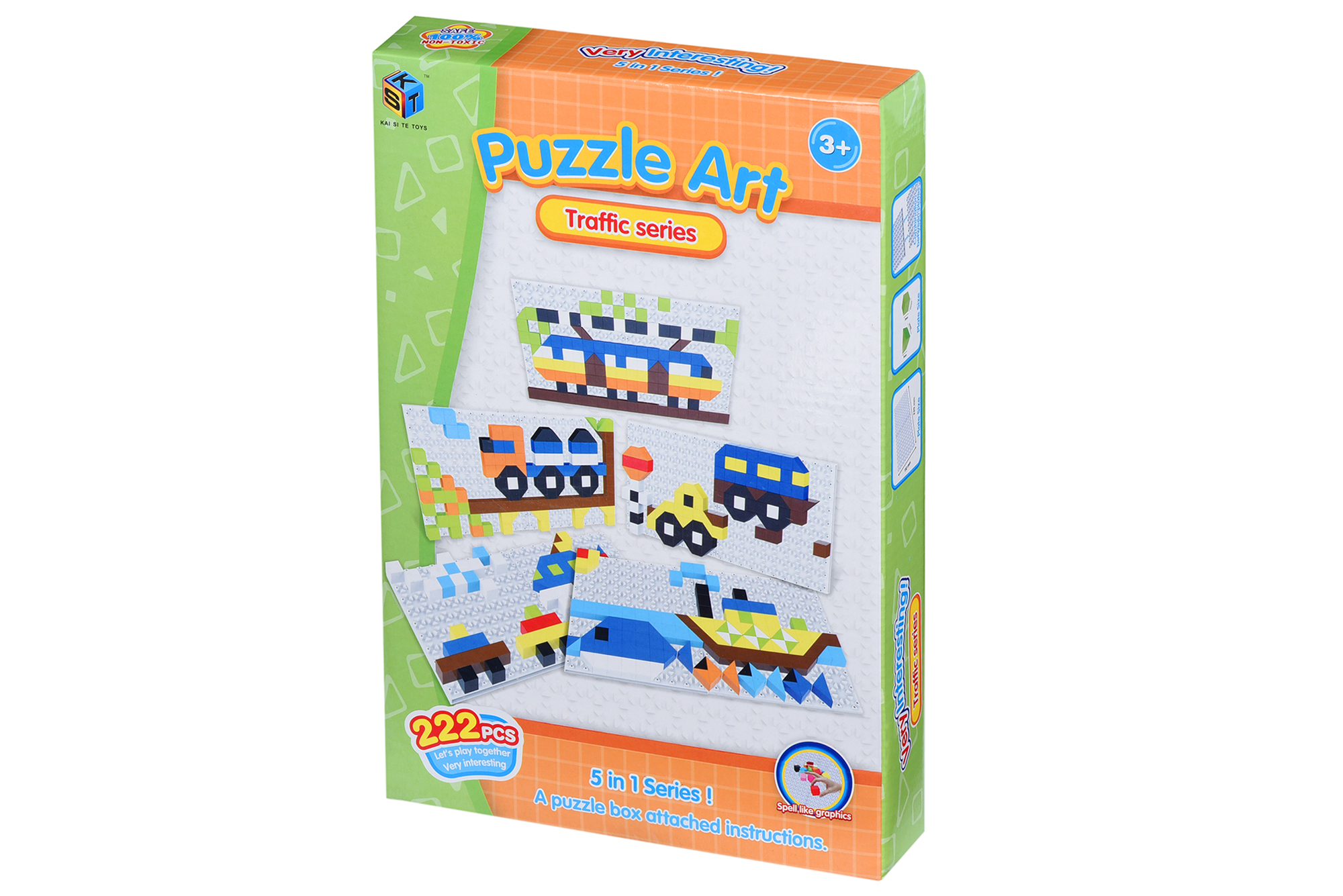 Same Toy Пазл Puzzle Art Traffic series (222 эл.)