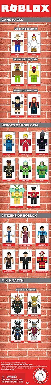 Roblox Ігрова колекційна фігурка Game Packs Mount of Gods, набір 2 шт.