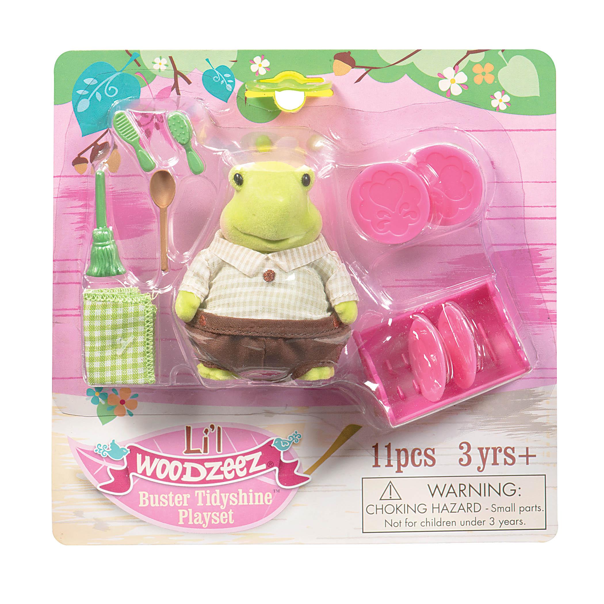 Li`l Woodzeez Игровой набор - Черепаха-хозяйка
