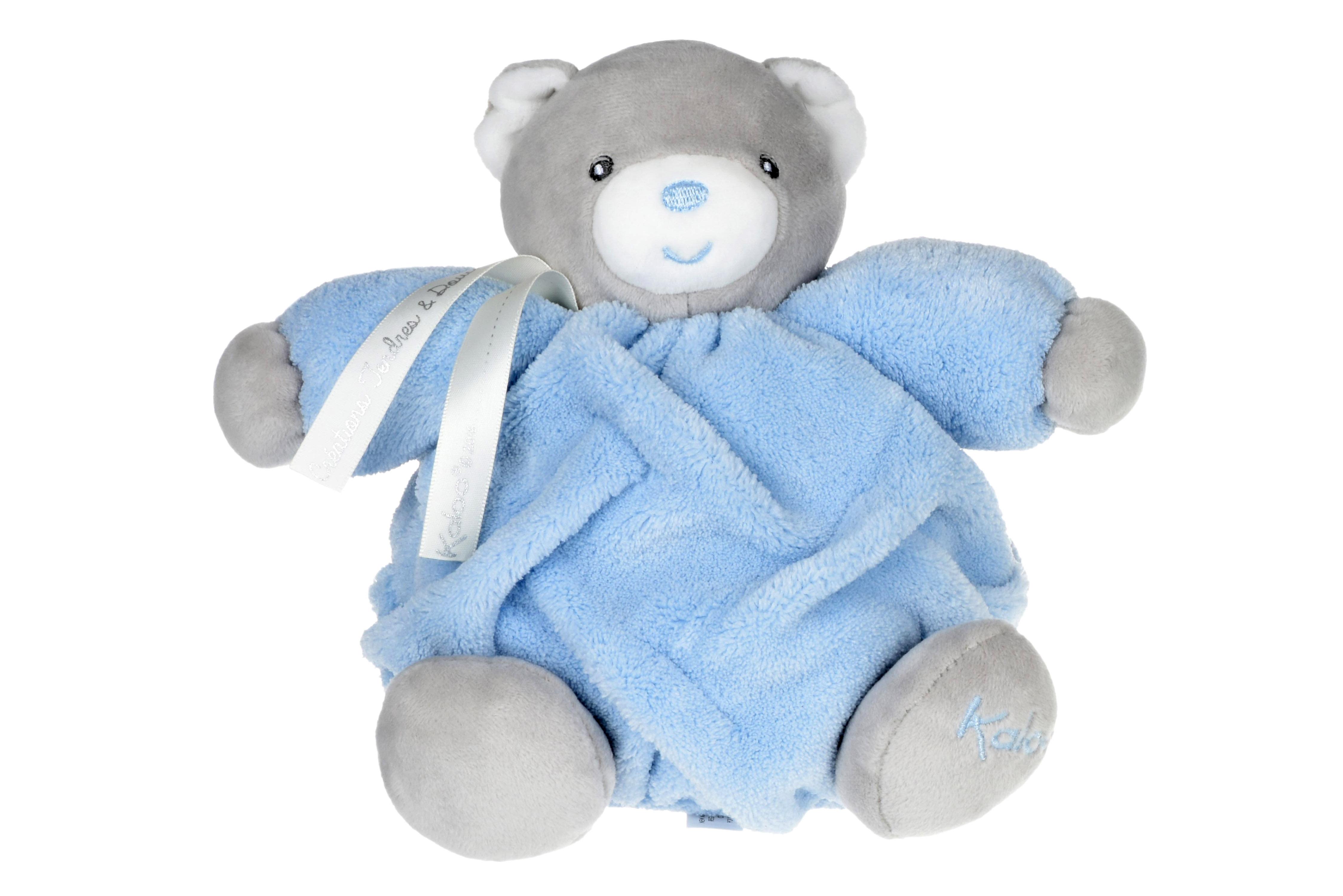 Kaloo музична іграшка Plume Ведмедик блакитний (18 см) в коробці