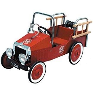 goki Педальный автомобиль Пожарная машина