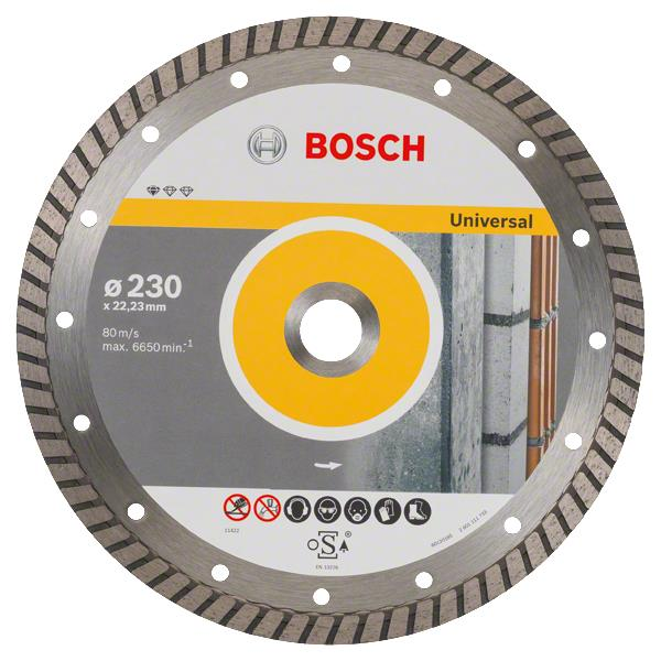 Bosch Алмазный диск Standard for Universal Turbo 230-22.23