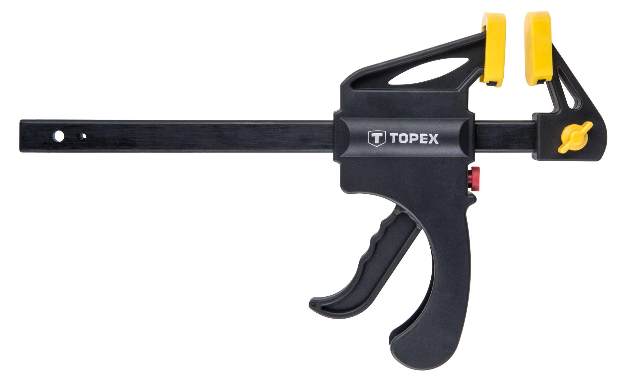Topex 12A515 Струбцина пружинна, 150 х 60 мм