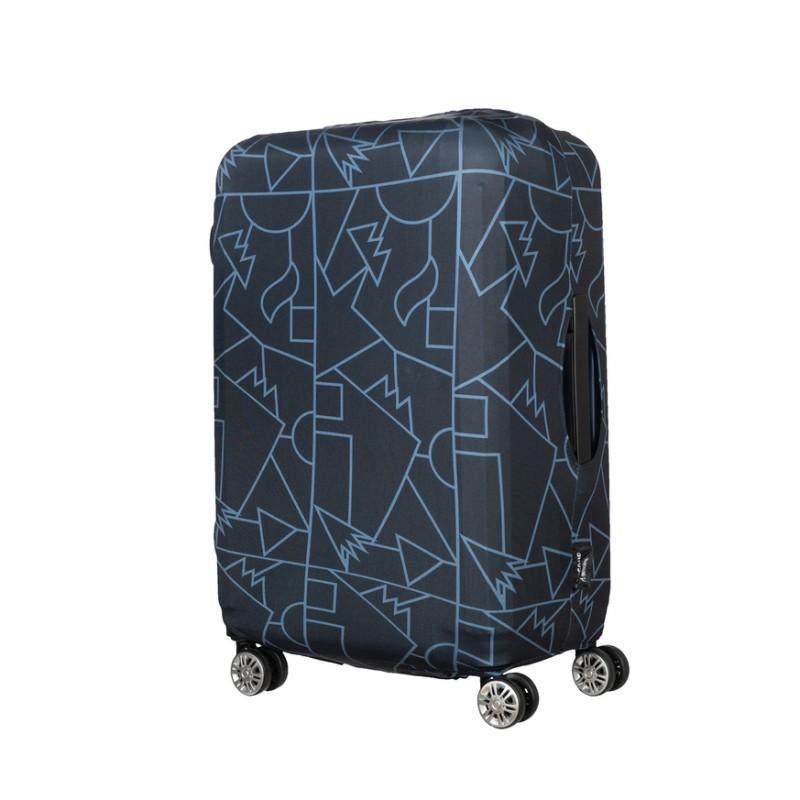 Tucano Чехол для чемодана  Compatto Mendini L[BPCOTRC-MENDINI-L-BK]