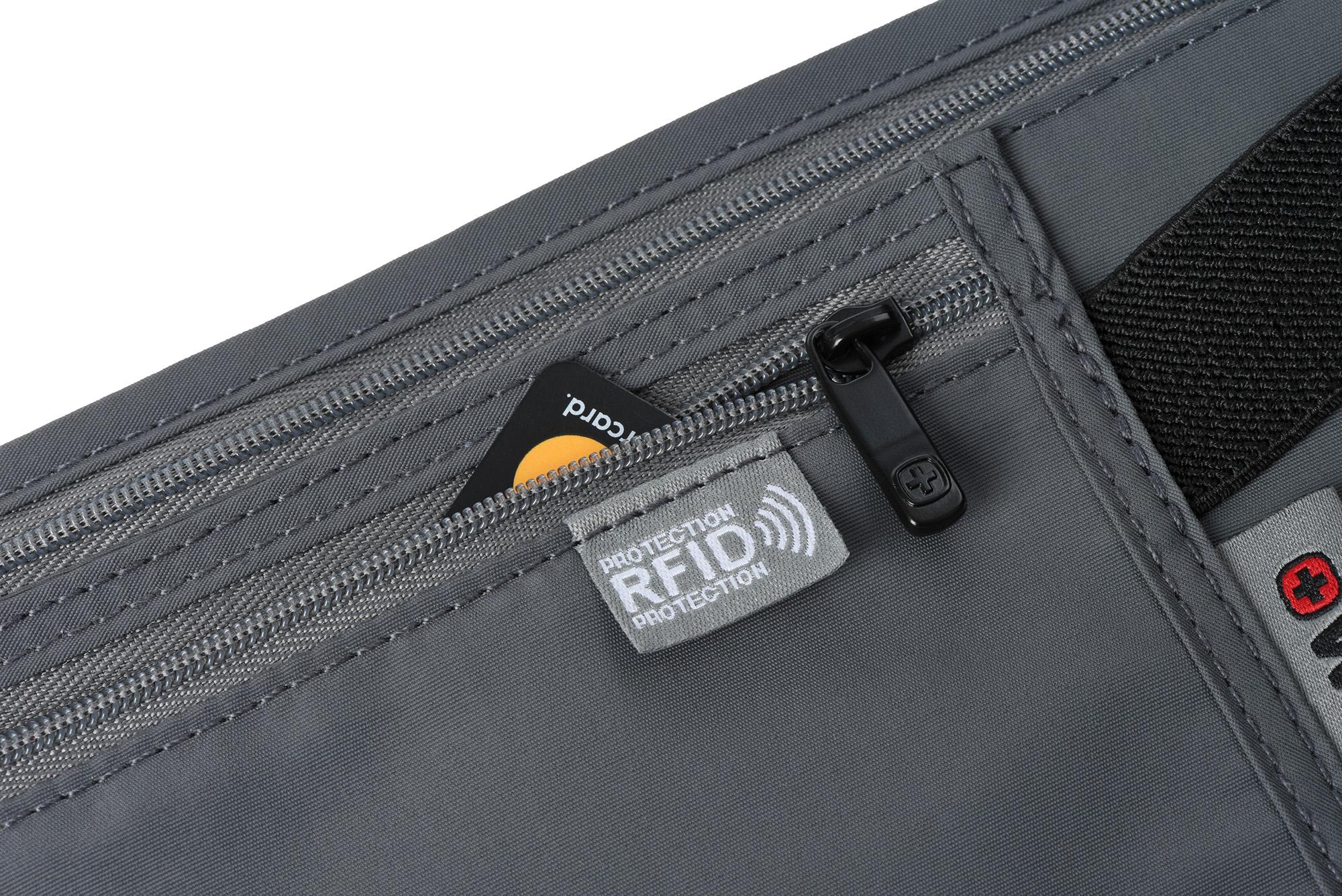 Wenger Сумка на пояс Waist Belt with RFID pocket (сіра)