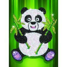 Sequin Art Набор для творчества RED Paz Panda