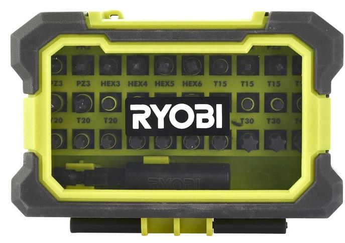 Ryobi Набір біт RAK31MSDI, 31 од., тримач 60мм, Torque