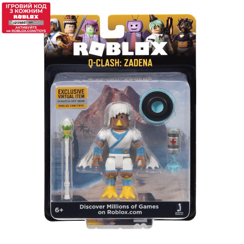 Roblox Игровая коллекционная фигурка Core Figures Q-Clash: Zadena W5